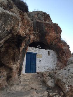 Kirke i klipperne bag Protaras