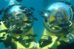 Underwater walk