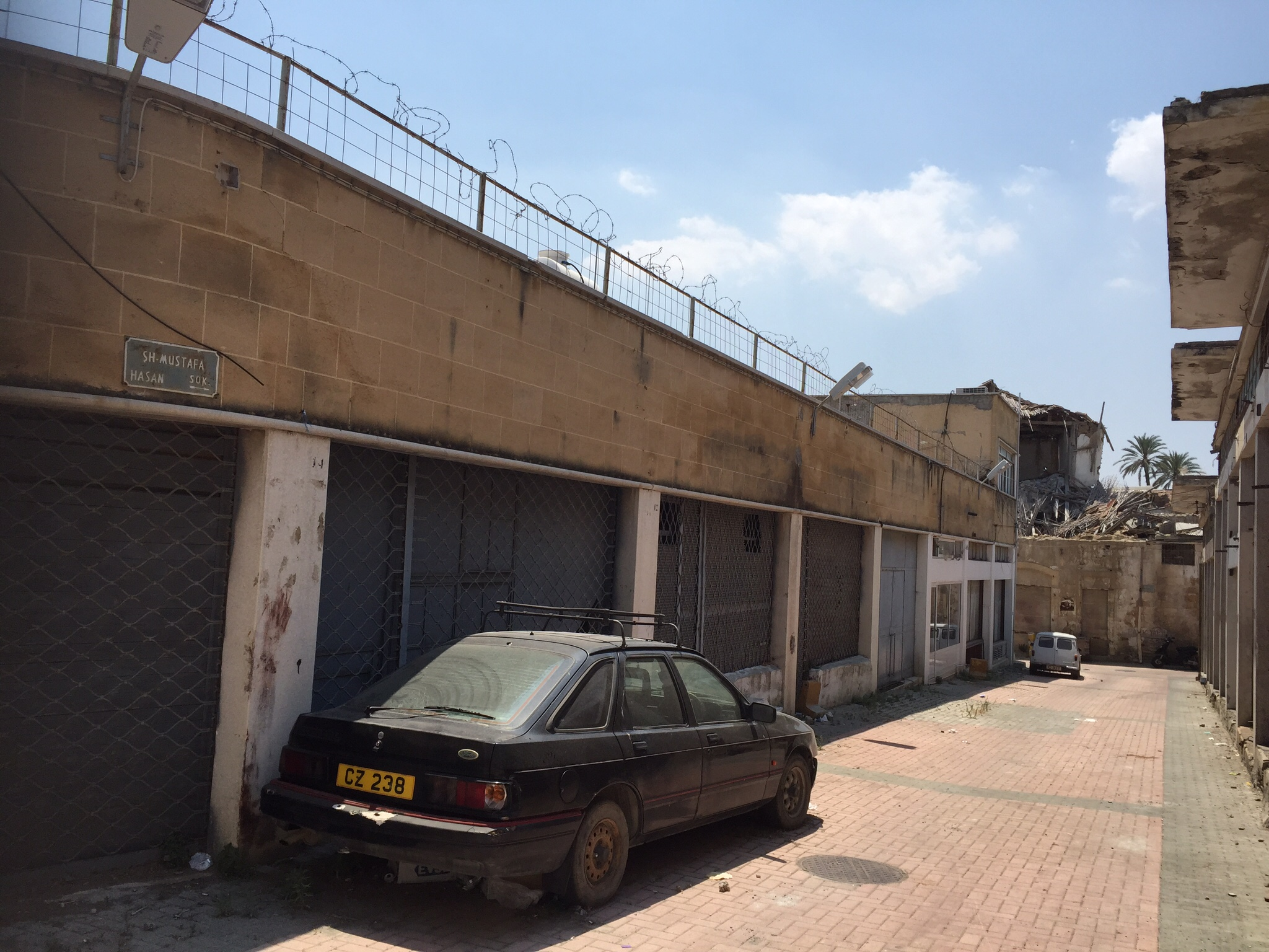 Nicosia - Tyrkisk besatte del