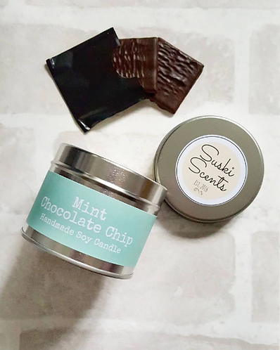 Mint Chocolate Chip Soy Candle