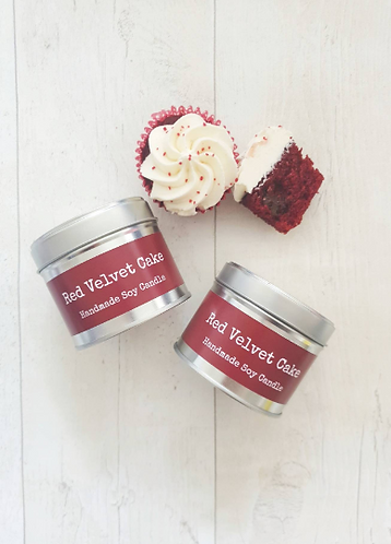 Red Velvet Cake Soy Candle