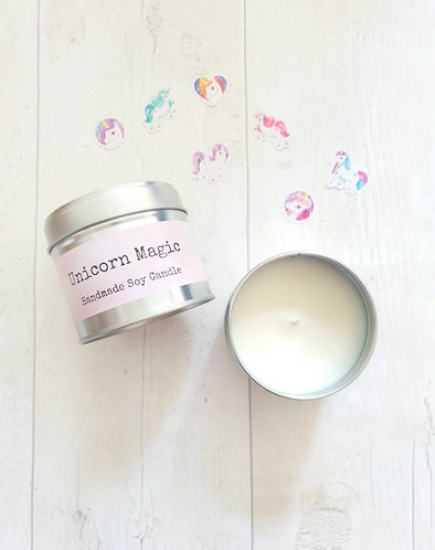 Unicorn Magic Soy Candle