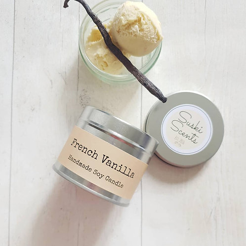 French Vanilla Soy Candle
