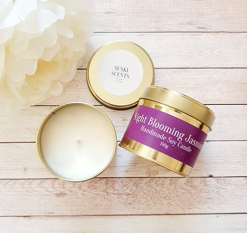 Night Blooming Jasmine Soy Candle