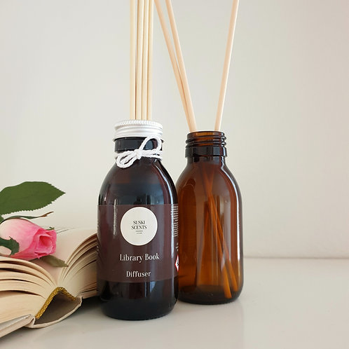 Library Book Reed Diffuser