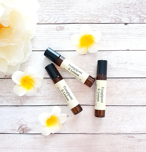 Frangipani & Lemon Perfume Oil