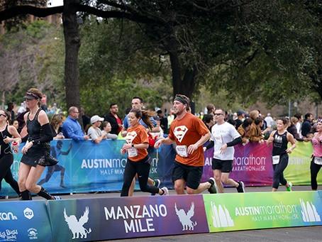 UT-Austin students make personal strides towards goals at Austin Marathon