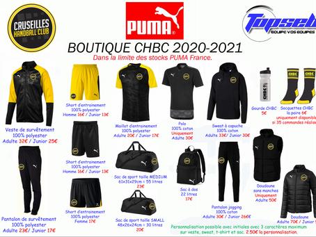 BOUTIQUE 2020/2021