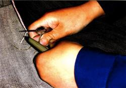 selvedge repair