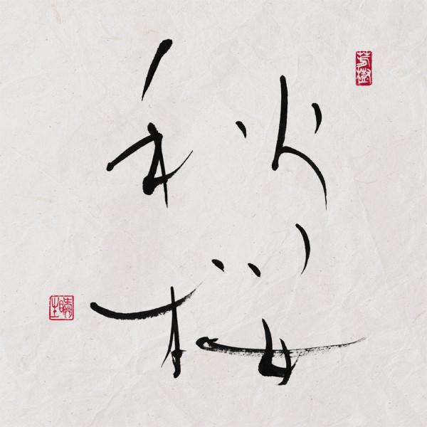 自由が丘書道虎空/秋桜.jpg