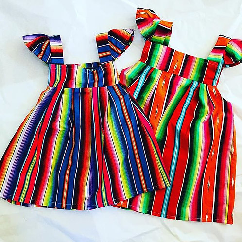 Serape sun dresses