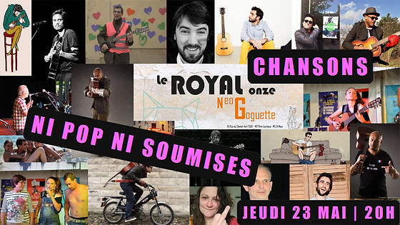 Saam concert le royal onze chanson française