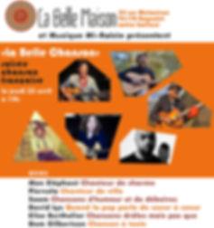 Saam concert élise berthelier La Belle Maison chanson française bagnolet