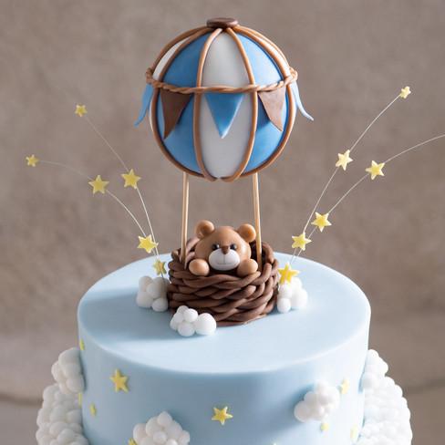 """Detailansicht """"Luftballon-Torte"""""""