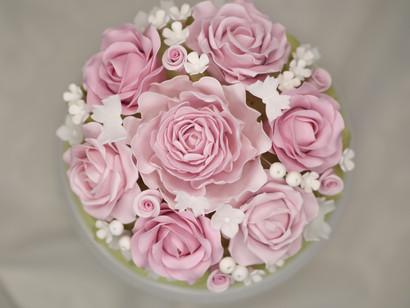 Detailansicht Zuckerblumen