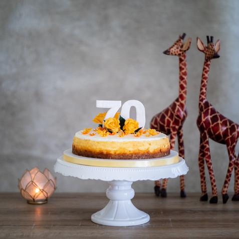 Geburtstags-Cheesecake