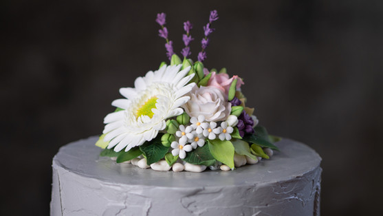 """Detailansicht """"flowers & stones"""""""