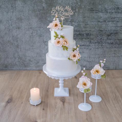 """Hochzeitstorte """"Andriana und Donato"""""""