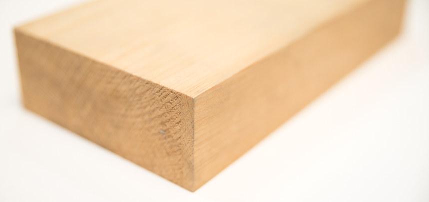 1-Shciht-Massivholz Nadelholz, durchgehende Lamelle