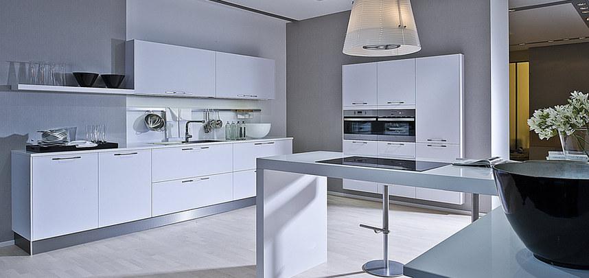 Arbeitsplatte im Küchenkonzept