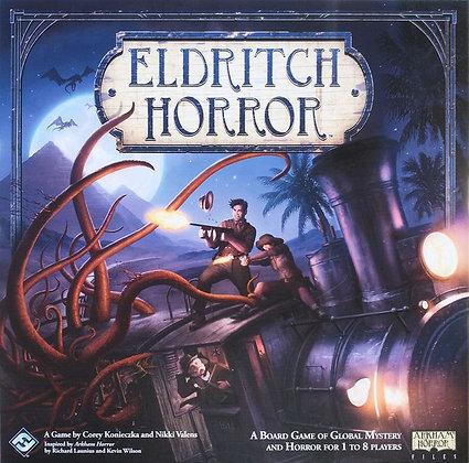 Eldritch Horror משחק קופסא שיתופי מדעי הלוח