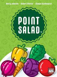 Point Salad card game סלט נקודות משחק קלפים מדעי הלוח