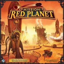 Mission red planet המשימה מאדים משחק קופסא מדעי הלוח