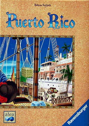 Puerto Rico board game פוארטו ריקו משחק קופסא מדעי הלוח