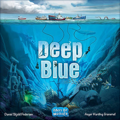Deep Blue board game משחק קופסה מדעי הלוח כחול עמוק