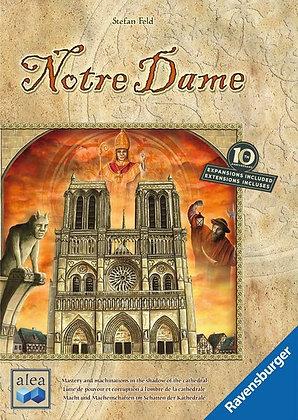 Notre Dame board game נוטרה דאם משחק לוח משחק קופסה מדעי הלוח משחק אסטרטגיה