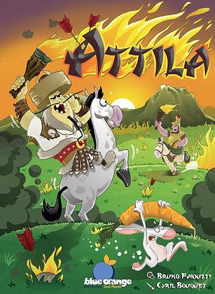 Attila board game for 2 אטילה משחק קופסא לזוג מדעי הלוח