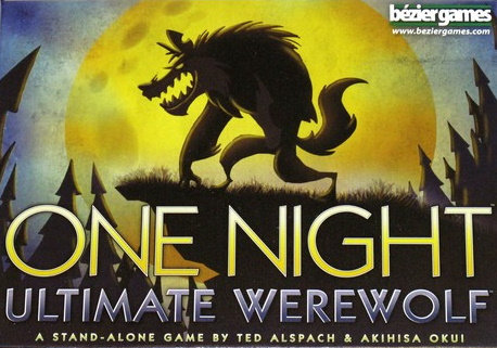 One Night Ultimate Warewolf משחק קופסה חברתי לקבוצה גדולה מדעי הלוח