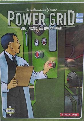 Power Grid משחק קופסא משחק קופסה מדעי הלוח משחק לוח משחק ניהול כלכלי