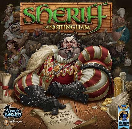 Sherif of Nottingham game השריף מנוטינגהם משחק קופסא מדעי הלוח