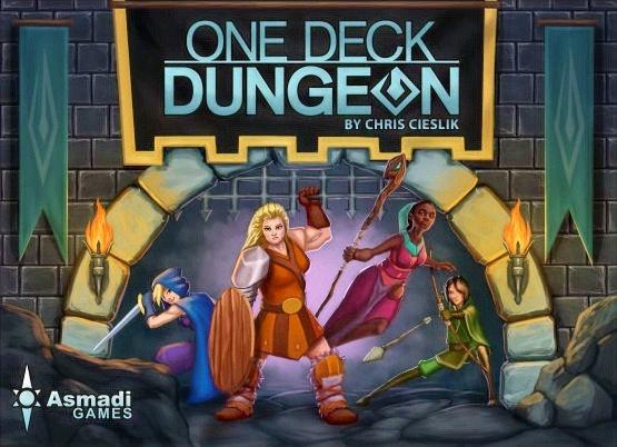 One Deck Dungeon משחק קופסה מדעי הלוח