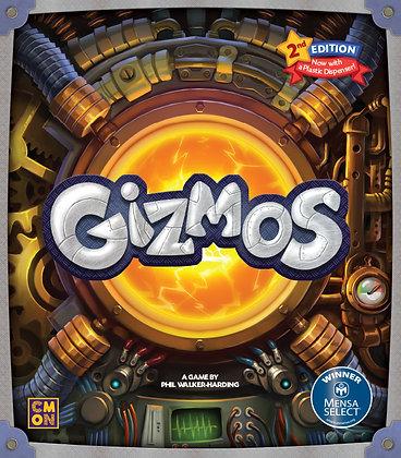 Gizmos 2nd משחק קופסא כמו ספלנדור גיזמוס מדעי הלוח