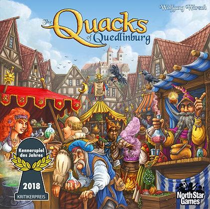 Quacks of Quedlinburg board game  קווקס מדעי הלוח משחק קופסה