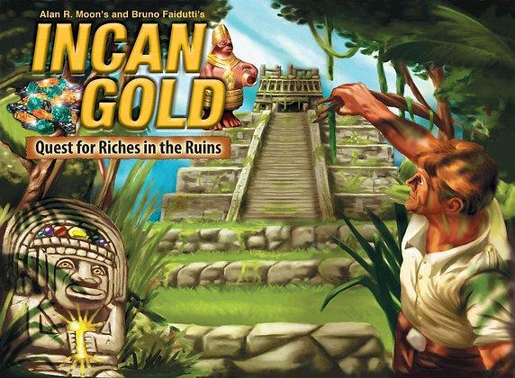 Incan Gold board game משחק קופסה אינקן גולד מדעי הלוח