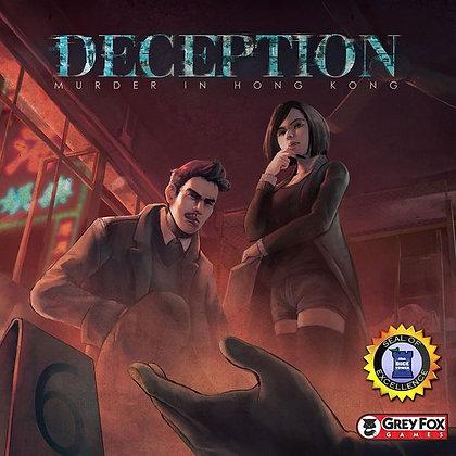 Deception Murder in Hong Kong board game משחק לוח חברתי בלשי משחק קופסא מדעי הלוח
