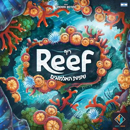 משחק קופסה משפחתי צבעוני ומקסים ריף שוניות האלמוגים