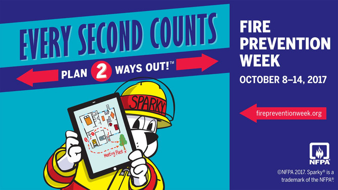 Fire Prevention Week!
