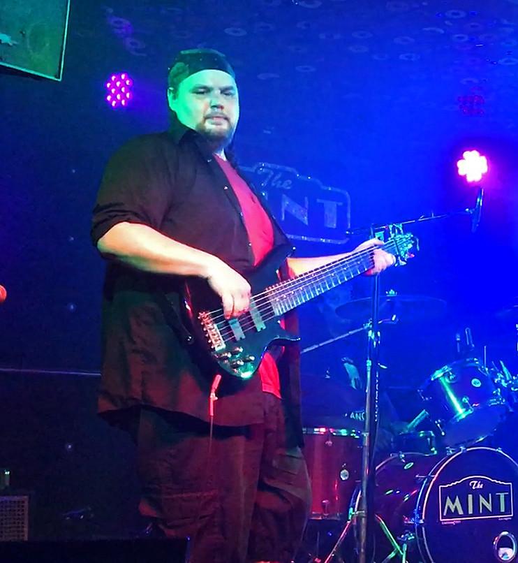 JMH on bass @ The Mint LA