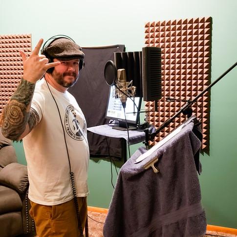 Vin in the Studio
