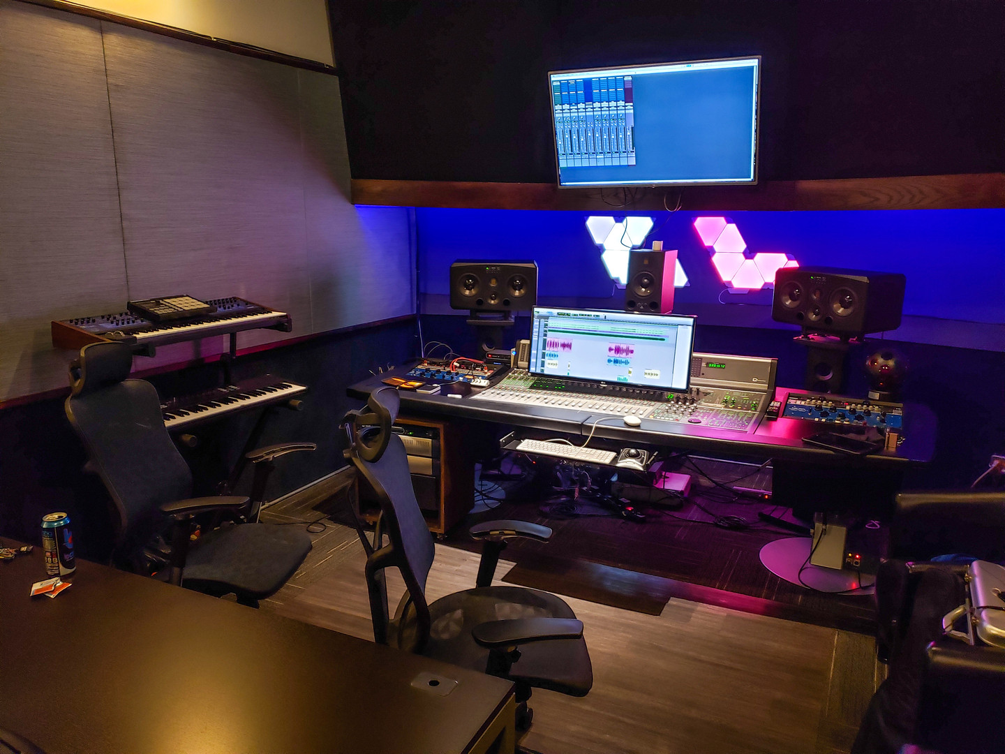 Studio B - Clear Lake Recording Studios