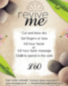 Revive, Heckmondwike, Hair, beauty, alternativetreatments, offer, relaxation, revive