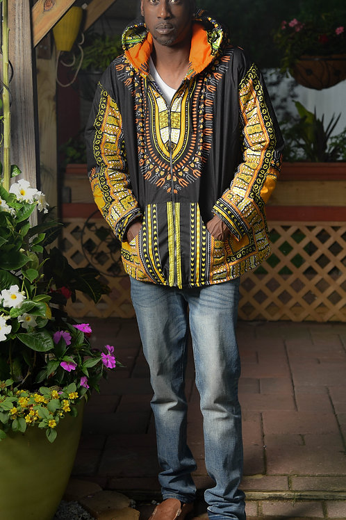 Reversible Dashiki Jacket