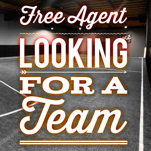 Free Agent Looking For a Team