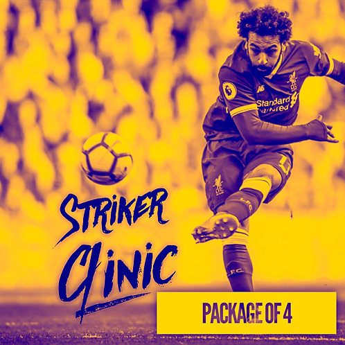 STRIKER CLINIC PACKAGE of (4)