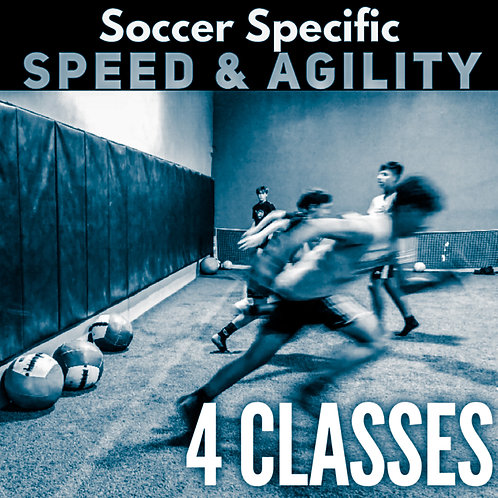 4 Class Package - Speed & Agility Class