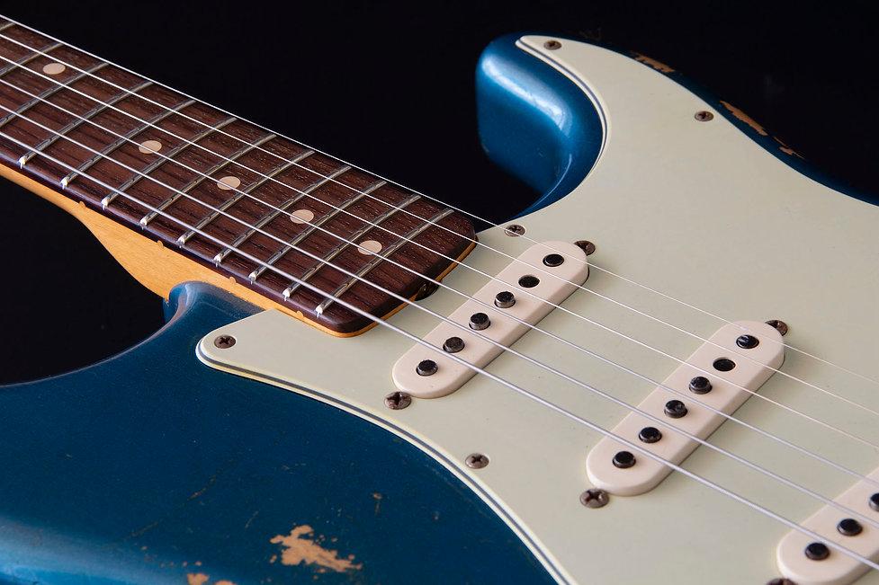 2012 Fender '62 Strat BNS 50th Ann Blue